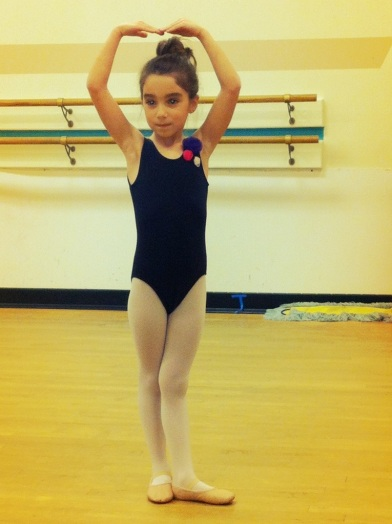 a ballerina in the making